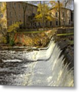 Cedar Creek Dam Metal Print