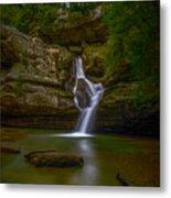 Cedar Falls 2 - Hocking Hills Ohio Waterfall Metal Print