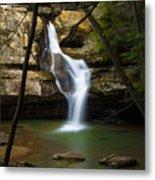 Cedar Falls - Hocking Hills Ohio Waterfall Metal Print