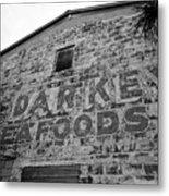 Cedar Key Sea Foods Metal Print by David Lee Thompson