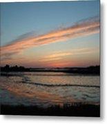 Cedar Key Sunset 2 Metal Print