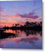Cedar Key Sunset Metal Print