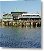 Cedar Key Waterfront Metal Print