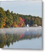 Cedar Lake Reflection Metal Print