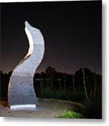 Cedar Park Sculpture Flame Metal Print