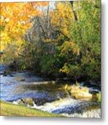 Cedarburg's Cedar Creek  Metal Print