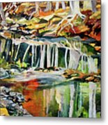Ceeekbed, Fall Colors 4 Metal Print