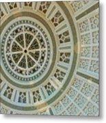 Ceiling Detail Metal Print