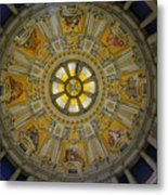 Ceiling Of The Berlin Cathedral Metal Print