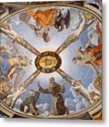 Ceiling Of The Chapel Of Eleonora Of Toledo Metal Print
