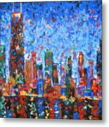 Celebration City Metal Print