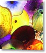 Celestial Glass 1 Metal Print