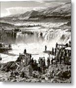 Celilo Falls Metal Print