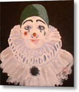 Celine The Clown Metal Print