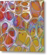Cell Abstract 14 Metal Print