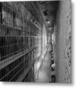 Cell Block Metal Print