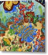 Cell Garden Metal Print