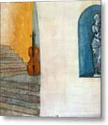 Cello No 2 Metal Print