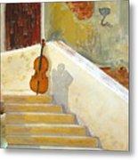 Cello No 3 Metal Print