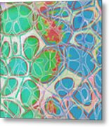 Cells 11 - Abstract Painting  Metal Print