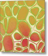 Cells Abstract Five Metal Print