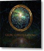 Celtic Constellation Metal Print
