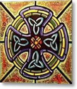 Celtic Cross 2 Metal Print