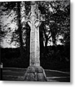 Celtic Cross In Killarney Ireland Metal Print