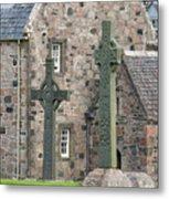Celtic Crosses Metal Print