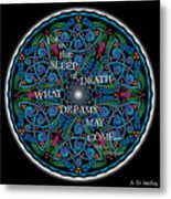 Celtic Dreamcatcher Metal Print