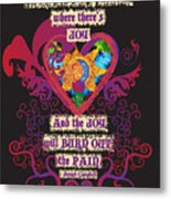 Celtic Eclipse Of The Heart Metal Print