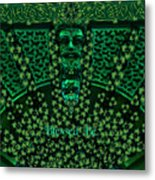 Celtic Green Man Metal Print