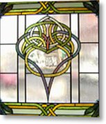 Celtic Heart Metal Print by Jane Croteau