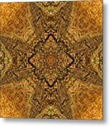 Celtic Mandala Abstract Metal Print