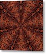 Celtic Ribbons Tile K7-2 Bronze Metal Print