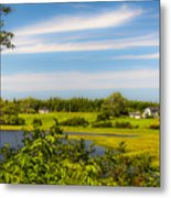Celtic Shores Coastal Trail Metal Print