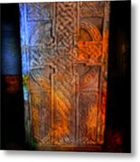 Celtic Stone Metal Print