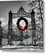 Celtic Yuletide Blessings Metal Print