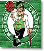 Celtics Barn Door Metal Print