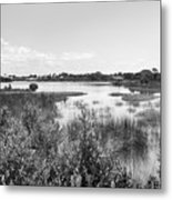 Cemetary Point Boardwalk Metal Print