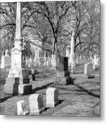 Cemetery 3 Metal Print
