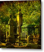 Cemetery In Charleston Metal Print
