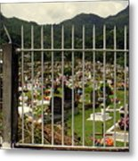 Cemetery In Seychelles Islands Metal Print