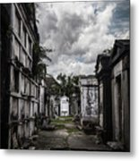 Cemetery Row Metal Print