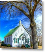 Centennial Christian Church Rural Greene County Georgia Metal Print