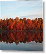 Centennial Lake Autumn - In Full Autumn Bloom Metal Print