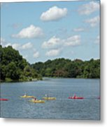 Centennial Lake Kayaks Metal Print