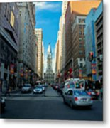 Center City Metal Print