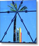Center Of The Palm Metal Print