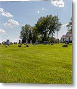 Center Ridge Cemetery Metal Print